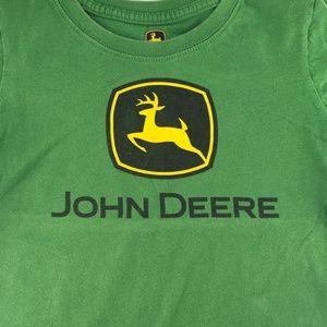 John Deere Shirts & Tops - John Deere youth 5 green t-shirt
